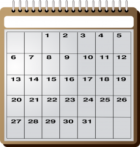 calendrier rachat