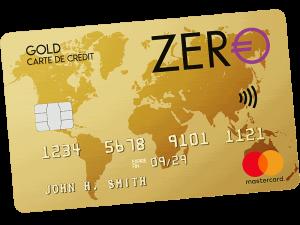 carte bancaire carte zero
