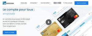 carte bancaire prépayée sogexia