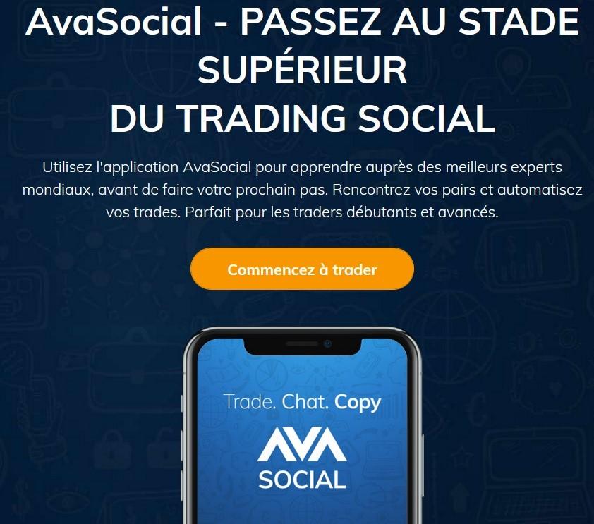 trading social AVA