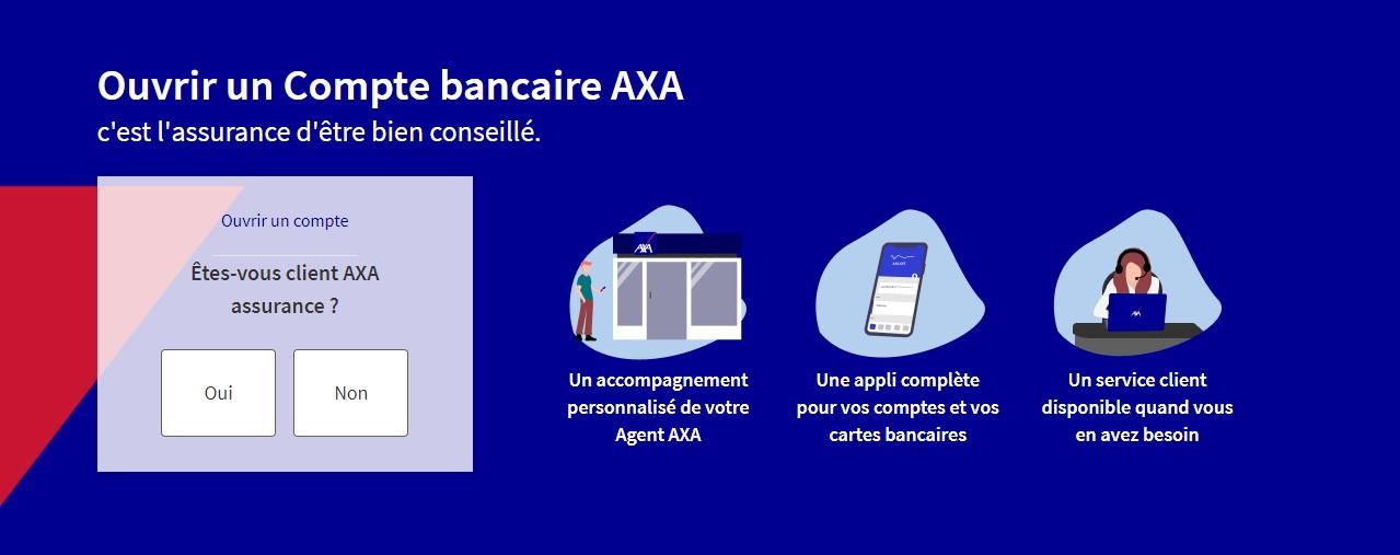 Ouvrir un compte sur Axa Banque