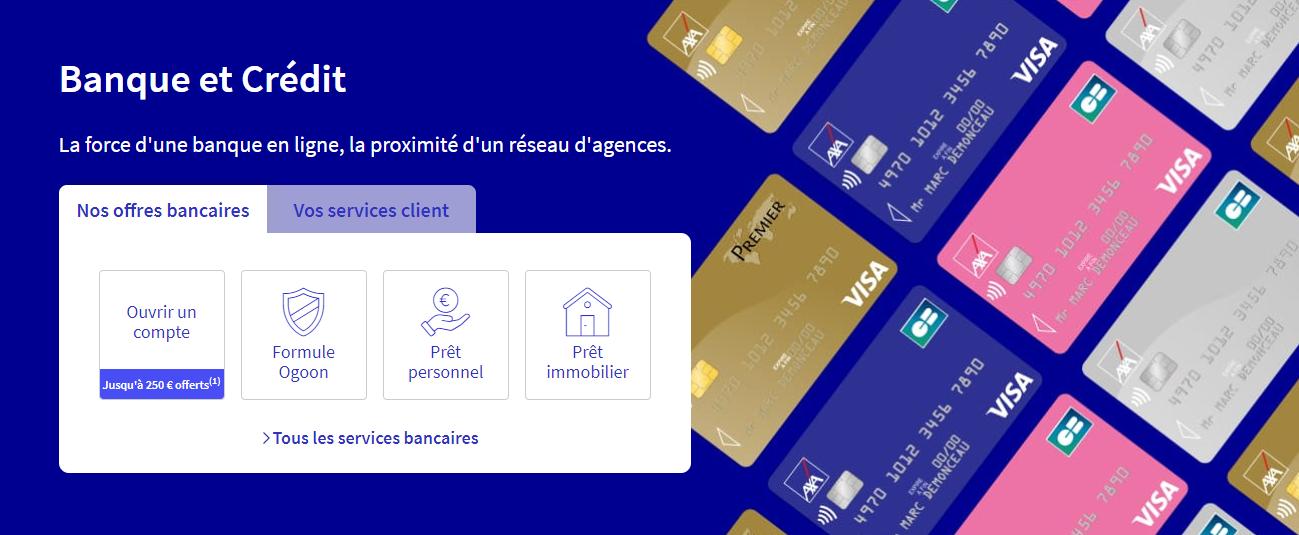 Banque et crédit Axa Banque