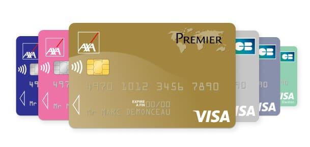 Cartes bancaires Axa