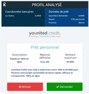 crédit 3000 euros
