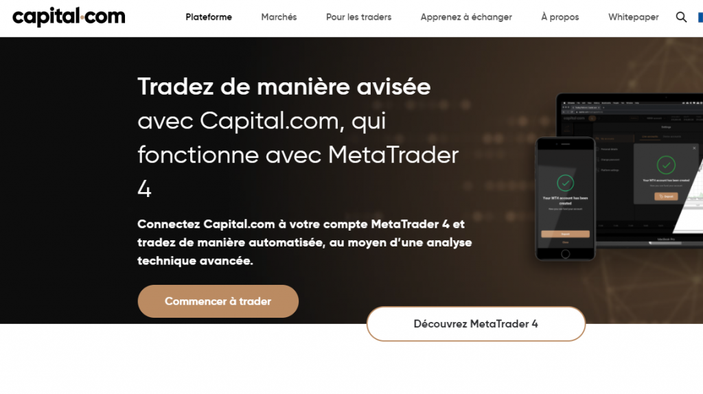 Capital.com MT4 broker