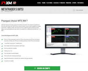 MT5 XM