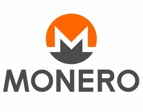 Monero logo plateforme d'échange