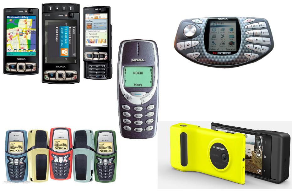 Nokia dans le mobile