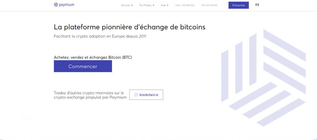 Paymium website