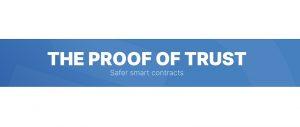 Proof of trust logo