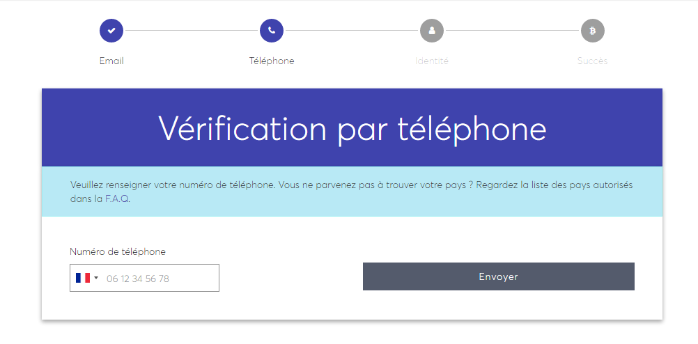 Verifier phone