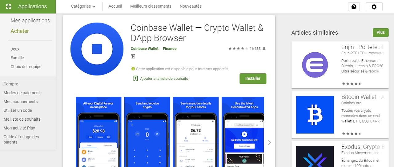 Coinbase étape 2 bitcoin wallet