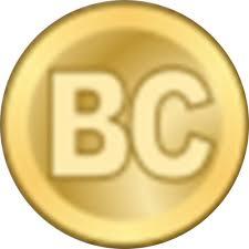Premier logo du bitcoin en 2009 proposé par Satoshi Nakamoto
