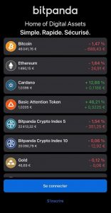 Application Bitcoin Bitpanda