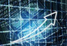 graphique evolution bourse placement flambée montée monnaie gain