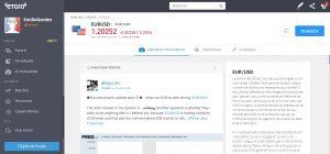 eToro tutoriel forex page devises