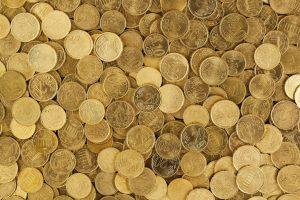 argent monnaie pieces banque sou