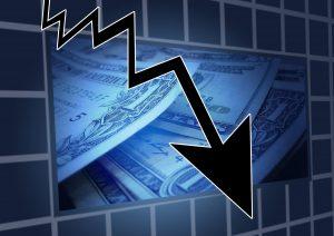 decroissance crise perte bourse risque trading investir dans le forex