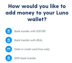 wallet luno