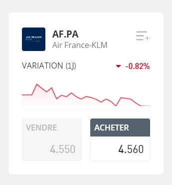 action air france ordre