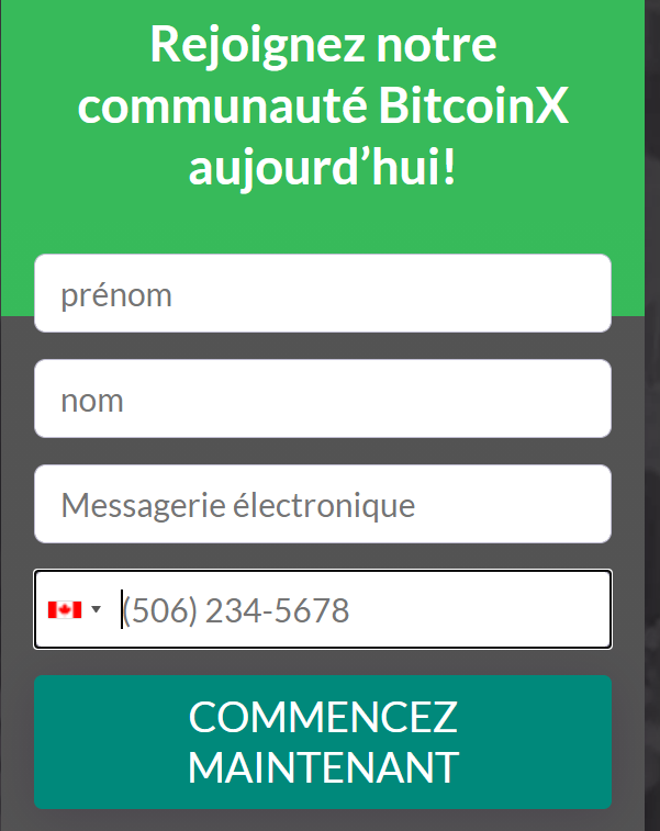 inscription BitcoinX
