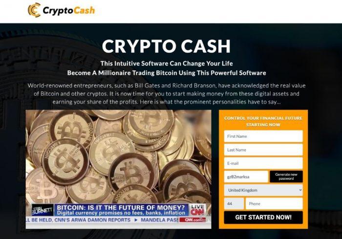 1. Ouverture d'un Compte Crypto Cash