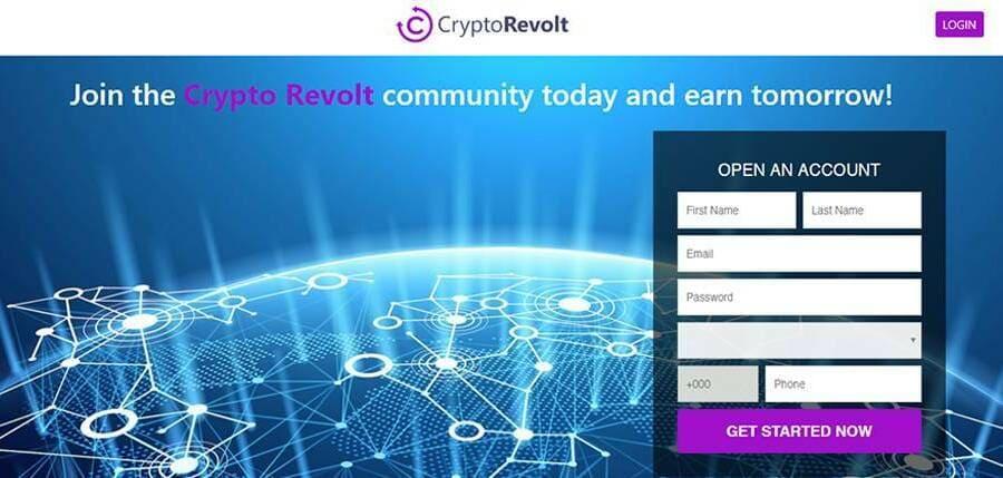 1. Ouvrir un Compte Crypto Revolt
