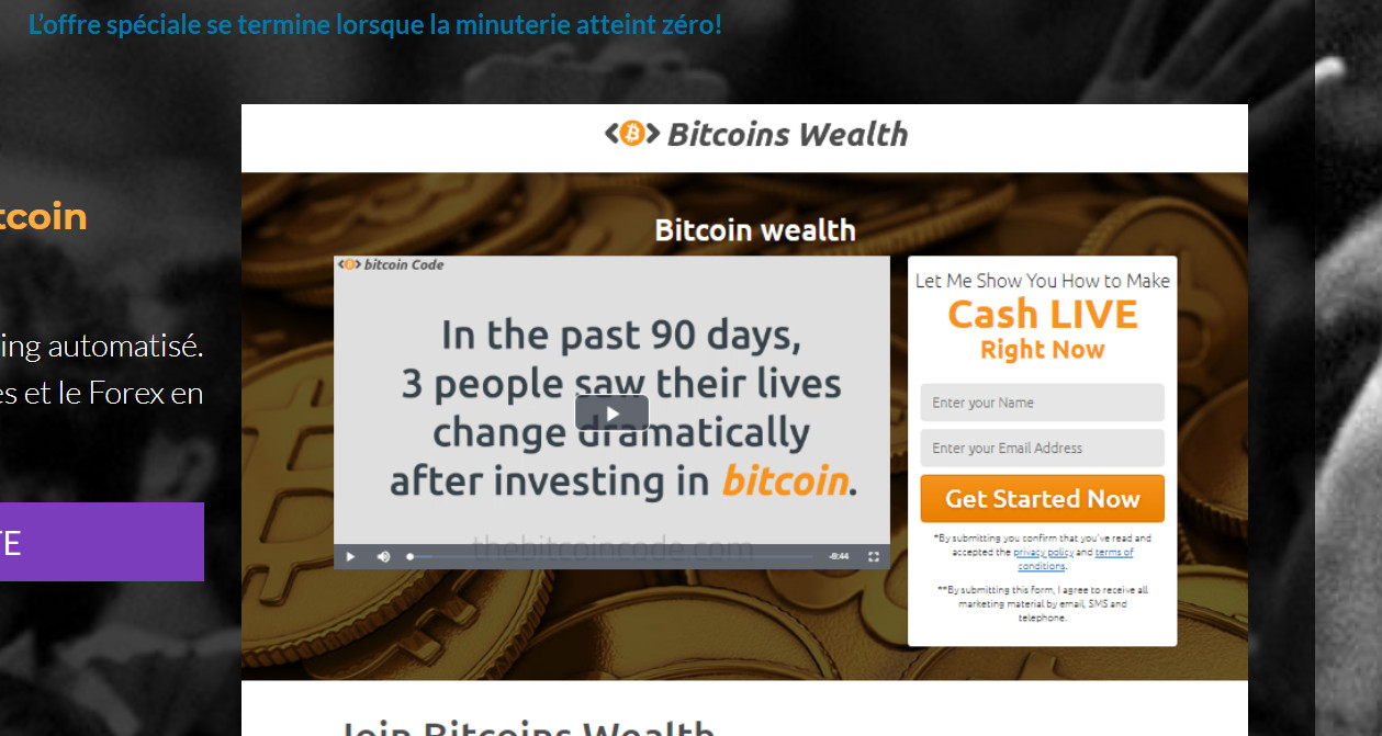 offre bitcoin Wealth