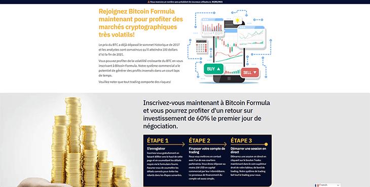Comment Bitcoin Formula Fonctionne-t-il?